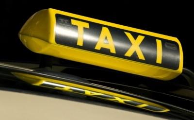 מנורה של מונית על גג מונית - תמונת כתבה