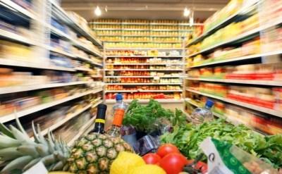 עגלה עם קניות בסופרמרקט - תמונת כתבה