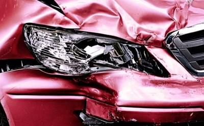 מצב האוטו לאחר התאונה - תמונת כתבה