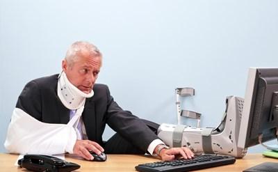 תאונת עבודה: כך תפעלו מול הביטוח הלאומי - תמונת כתבה