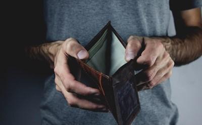 אין כסף לשלם את החוב - תמונת כתבה