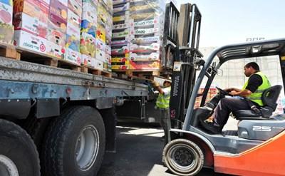 מטען על משאית - תמונת כתבה
