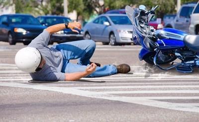 תאונת אופנוע - תמונת כתבה
