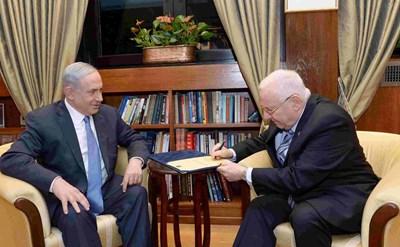 הנשיא ראובן ריבלין וראש הממשלה בנימין נתניהו - תמונת כתבה
