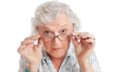 קשישה, אישה זקנה - תמונת כתבה