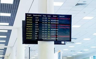 ביטול טיסות לסין - תמונת כתבה