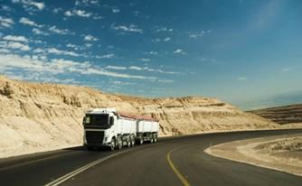 נהג משאית נתפס עם חריגה של כמעט 50% מהמשקל המותר ויצא עם קנס בלבד