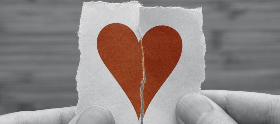לקראת גירושין - הלב נשבר