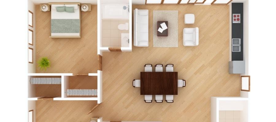 תכנית הדירה המקורית - האם החלוקה נעשתה כדין?