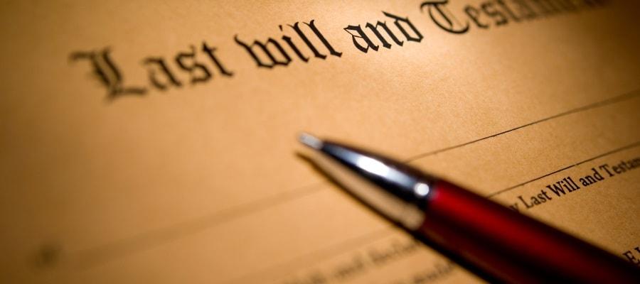 צוואה - יש להגיש בקשה לקיום צוואה לרשם