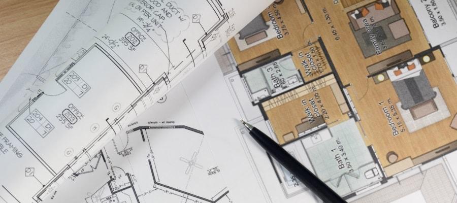 תשריט המבנה - תכנון מקדים