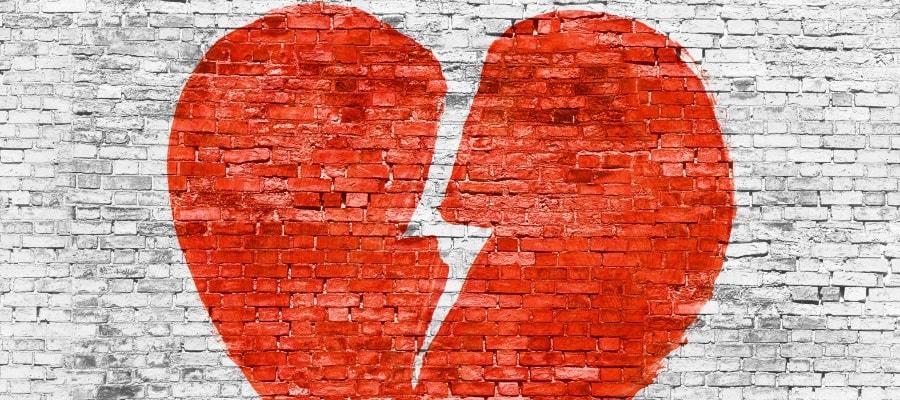 הלב נשבר - בני הזוג נפרדים