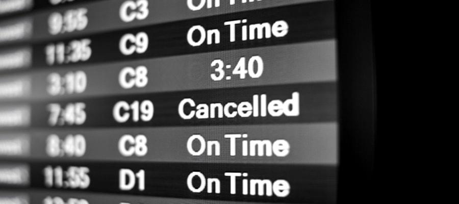 הטיסה בוטלה - מה אפשר לעשות?