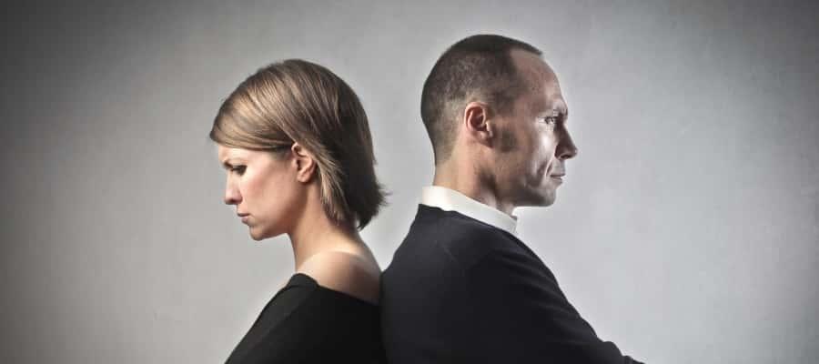 בני זוג נמצאים בקונפליקט