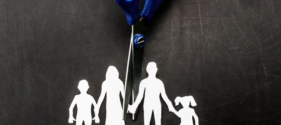 המשפחה מתפרקת בעת גירושי ההורים
