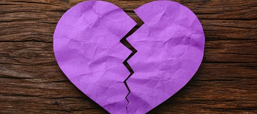 הלב נשבר - בני הזוג מתגרשים