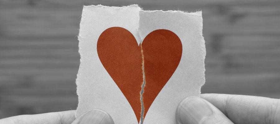 הליך גירושין קשה - הלב נשבר