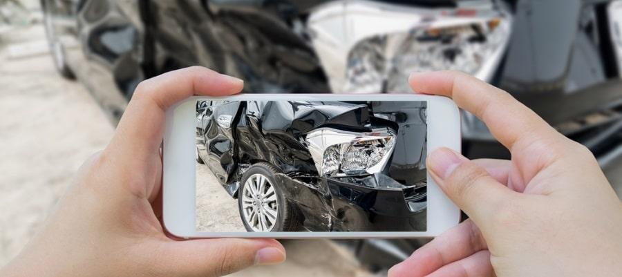צילום התאונה
