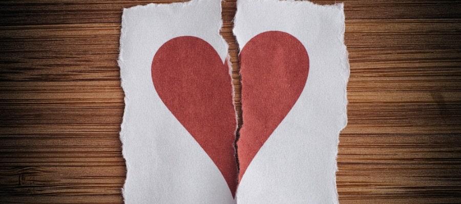 הלב נשבר - לקראת גירושין
