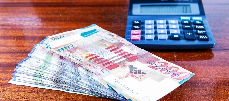 חישוב הכספים שמגיעים לצדדים