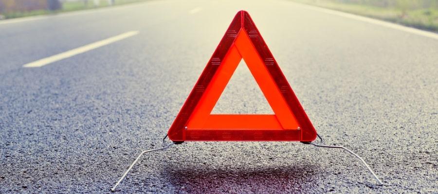 משולש שמצביע על בעיה ברכב