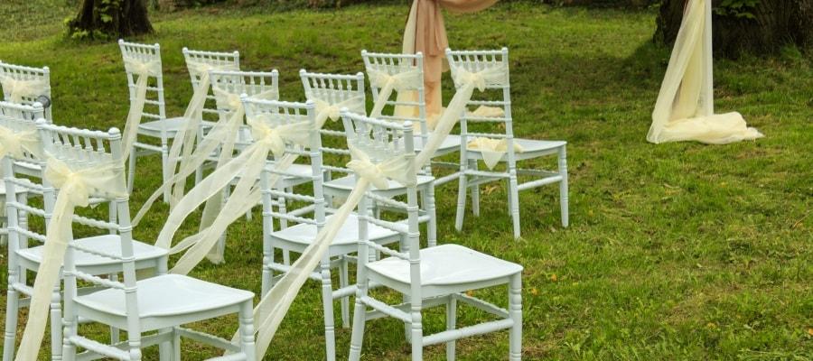 לקראת טקס החתונה