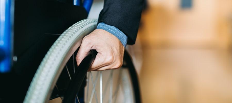 כסא גלגלים - בעקבות תאונה